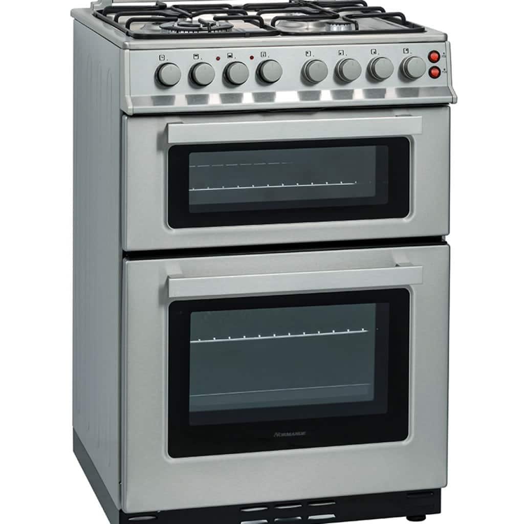 תנור אפיה משולב הלכתי דו תאי Normande דגם:  ND-66 בצבע נירוסטה