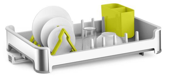 מייבש כלים איכותי למטבח מבית EKO לבן שמנת