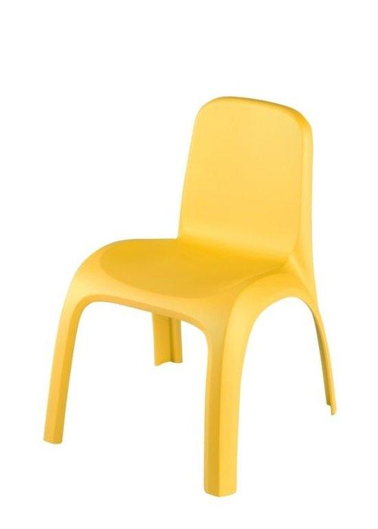 כיסא גילי צהוב