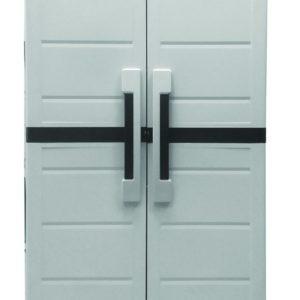 ארון שירות דגם שני דלת אחסון שחור