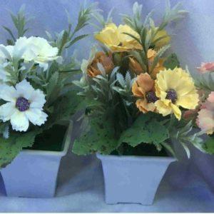 עציץ פרחים כלי מרובע