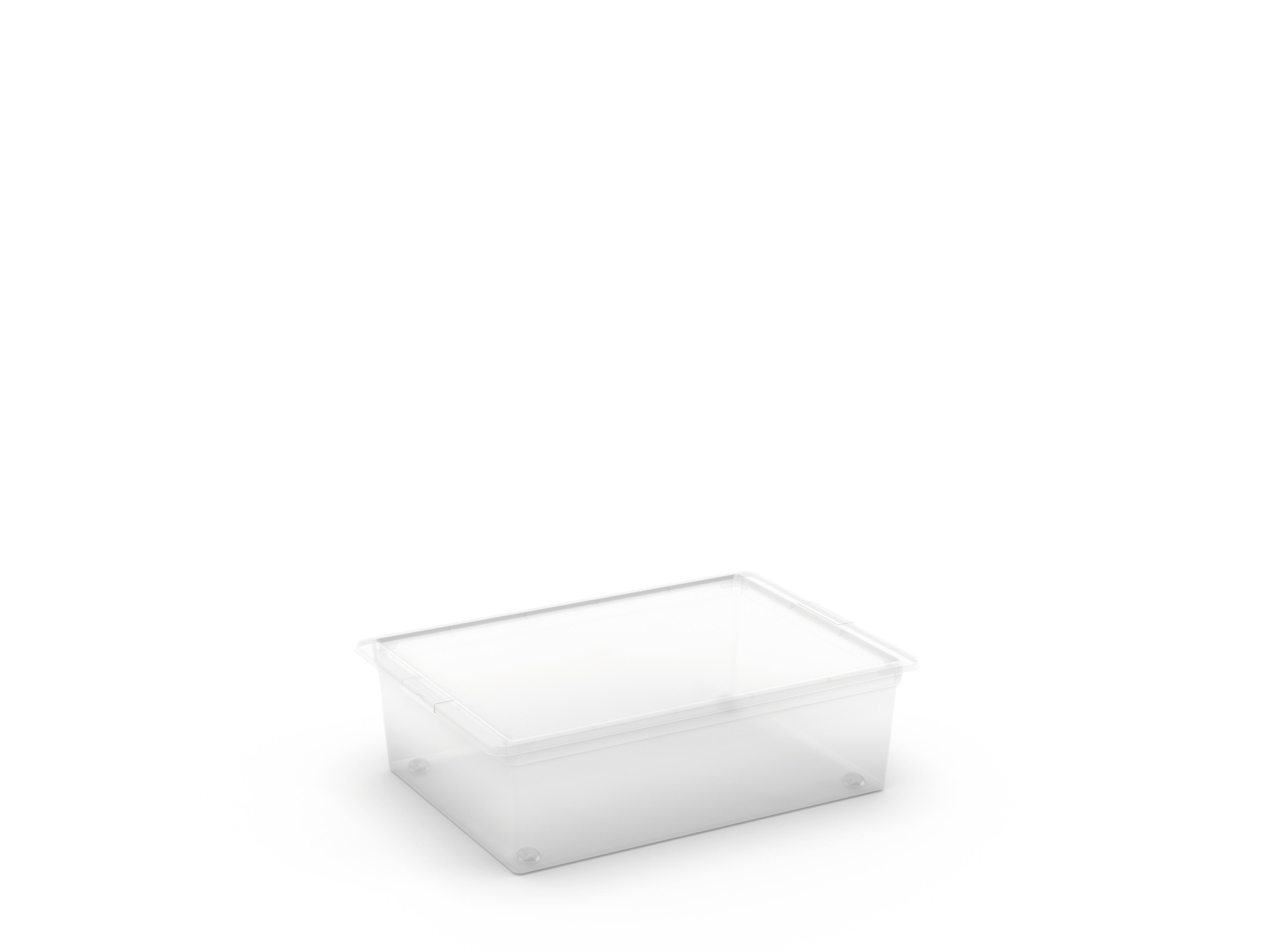 קופסא סטייל שטוחה 27 ליטר- שקוף (L)
