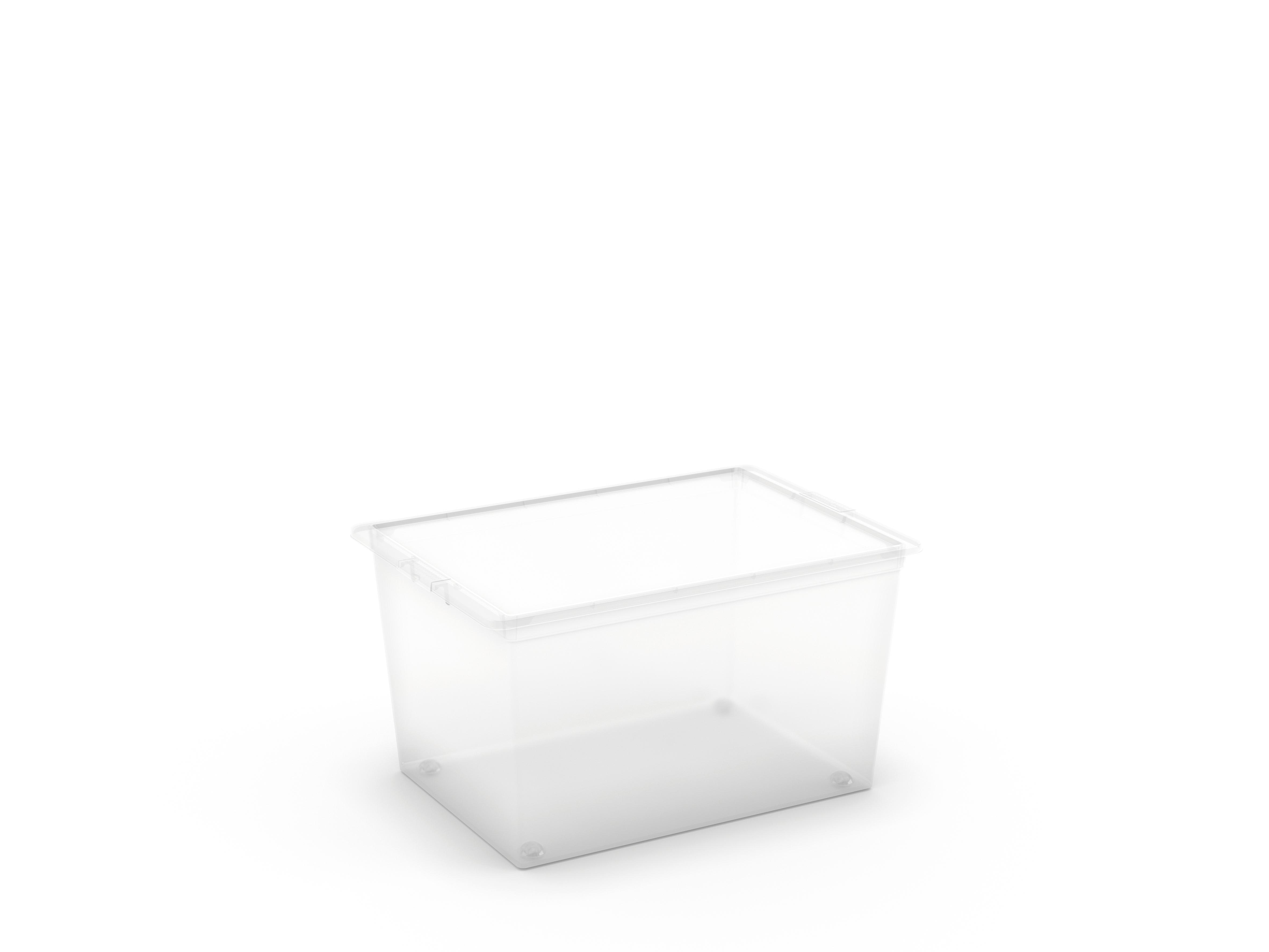 קופסא סטייל 50 ליטר- שקוף(XL)