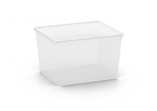 קופסא סטייל עמוקה 27 ליטר- שקוף (CUBE)