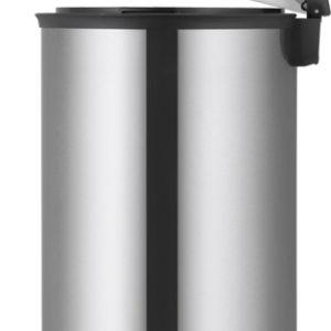 פח אשפה אליפס למטבח 30 ליטר נירוסטה מט EKO