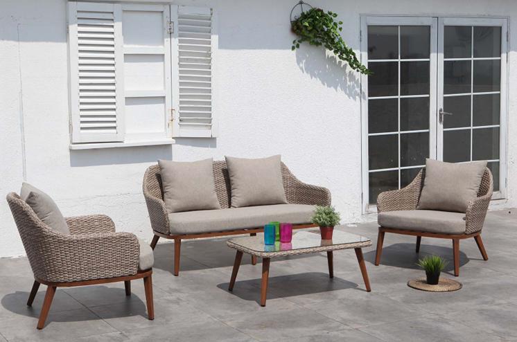 פינת ישיבה טולוז ספה דו מושבית+ כורסאות