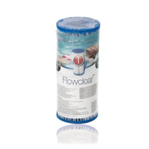 מסנן מס I למשאבת סינון מים 1249 ליטר/330 גלון בשעה BESTWAY, דגם 58093 מסדרת FLOWCLEAR