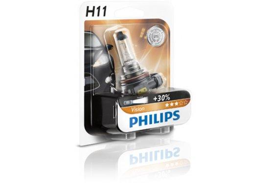 נורה PHILIPS H11 VISION