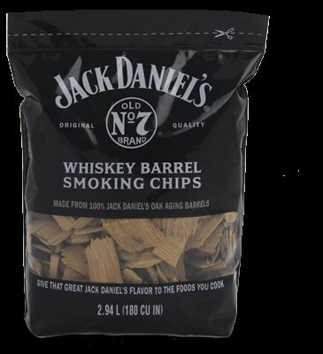 שבבי עץ לעישון בטעם JACK DANIELS