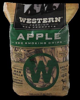 שבבי עץ לעישון בטעם תפוח