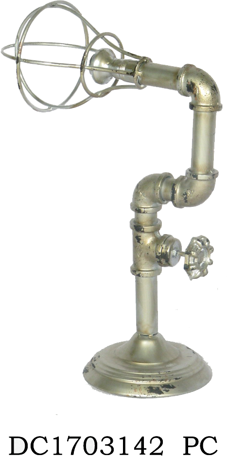 מנורה דקורטיבית בצורת ברז 27x12.5x41 ס''מ