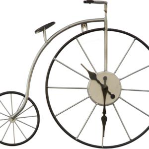 שעון אופניים לבן