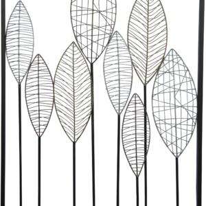 קישוט קיר עלים ברושים 50.8x81.3x2
