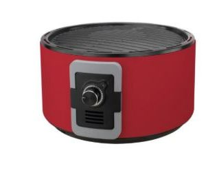 גריל Firechef בצבע אדום ללא עשן