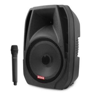 בידורית ניידת בלוטוס 12'' עם מיקרופון אלחוטי דגם: DM-120