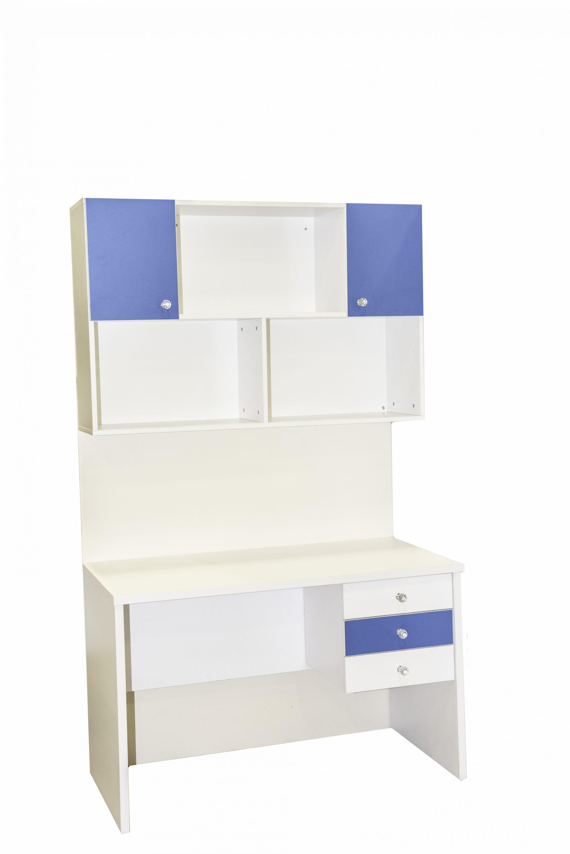 מערכת שולחן כתיבה + 3 מגירות + כוורת דגם אגם במגוון צבעים