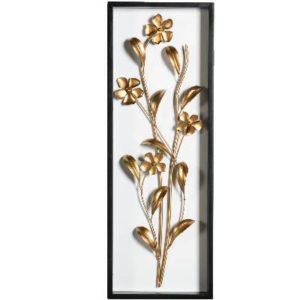 קישוט קיר פרח הזהב