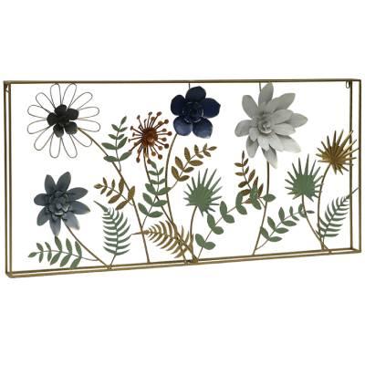 קישוט קיר שדה פרחים