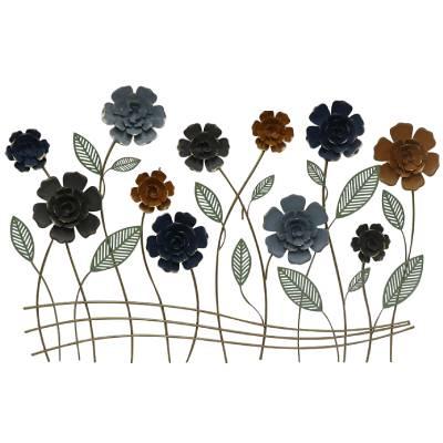 קישוט קיר סימפוניית פרחים