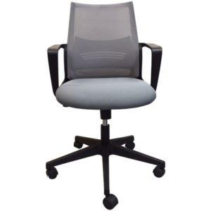 כיסא מחשב לבית ולמשרד אפור