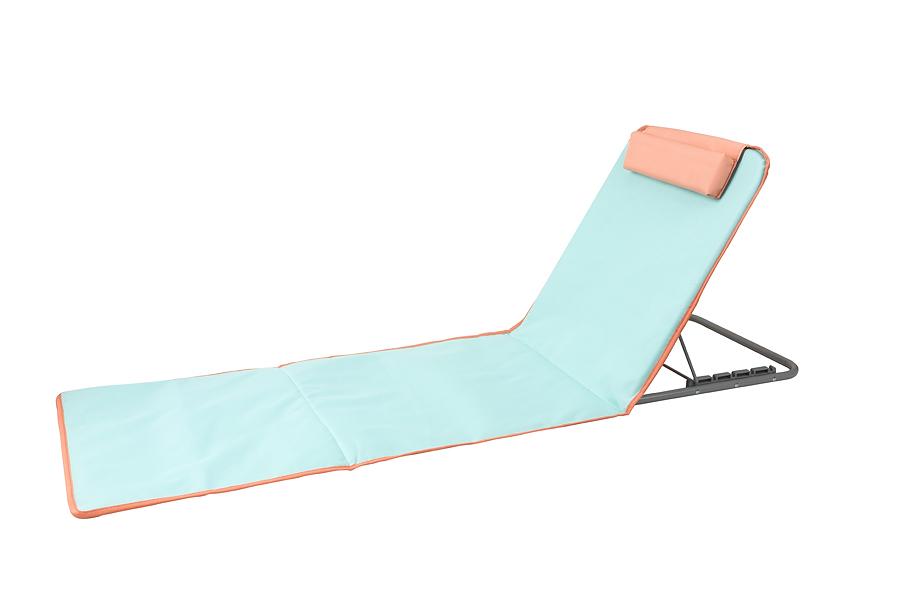 מיטת חוף מליבו מתקפלת בצבע טורקיז