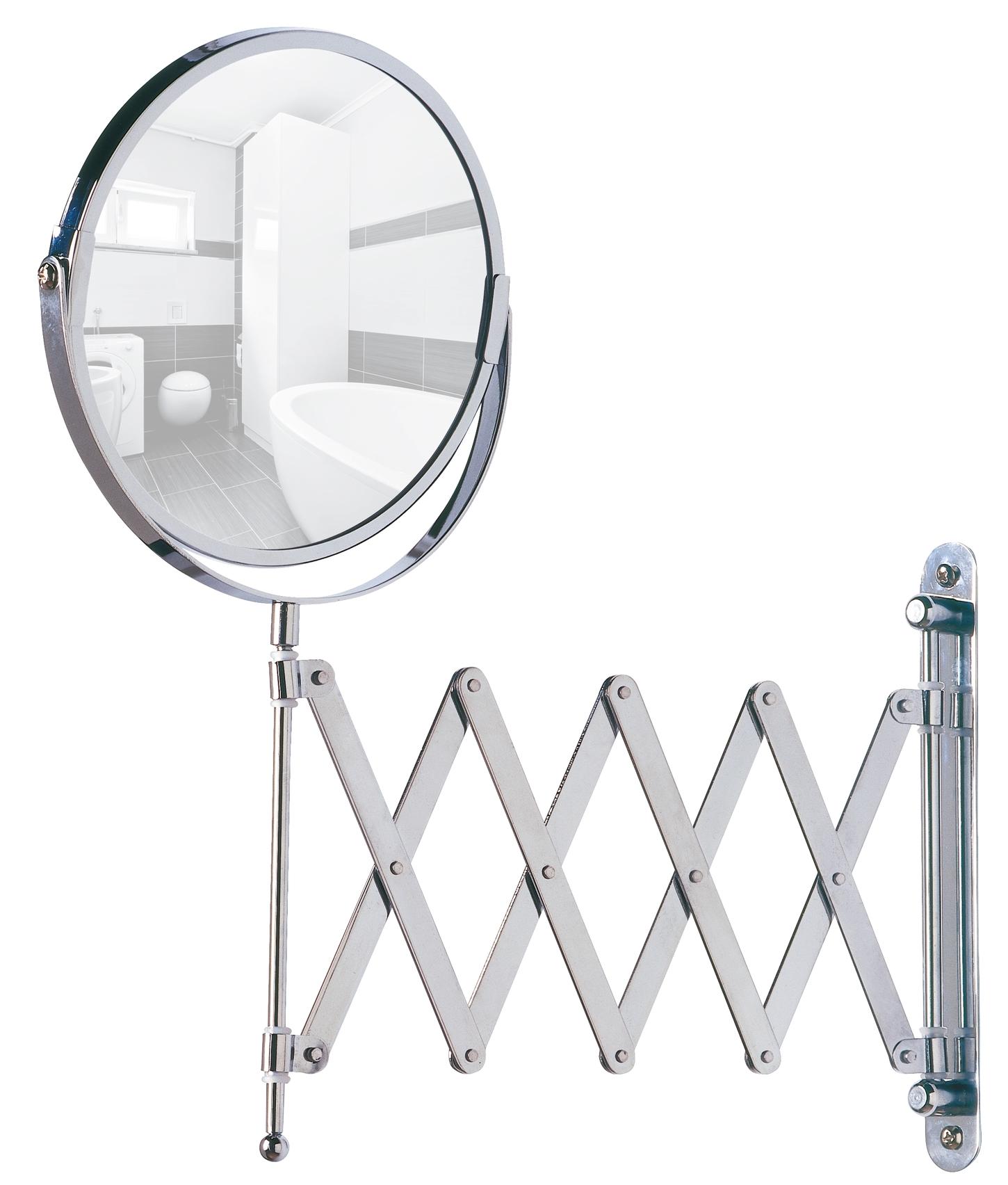 מראה קוסמטית טלסקופית לאמבטיה