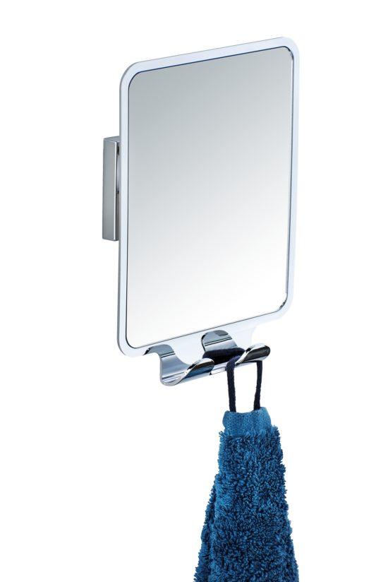 מראה לגילוח באמבטיה נגד אדים נצמד בוואקום