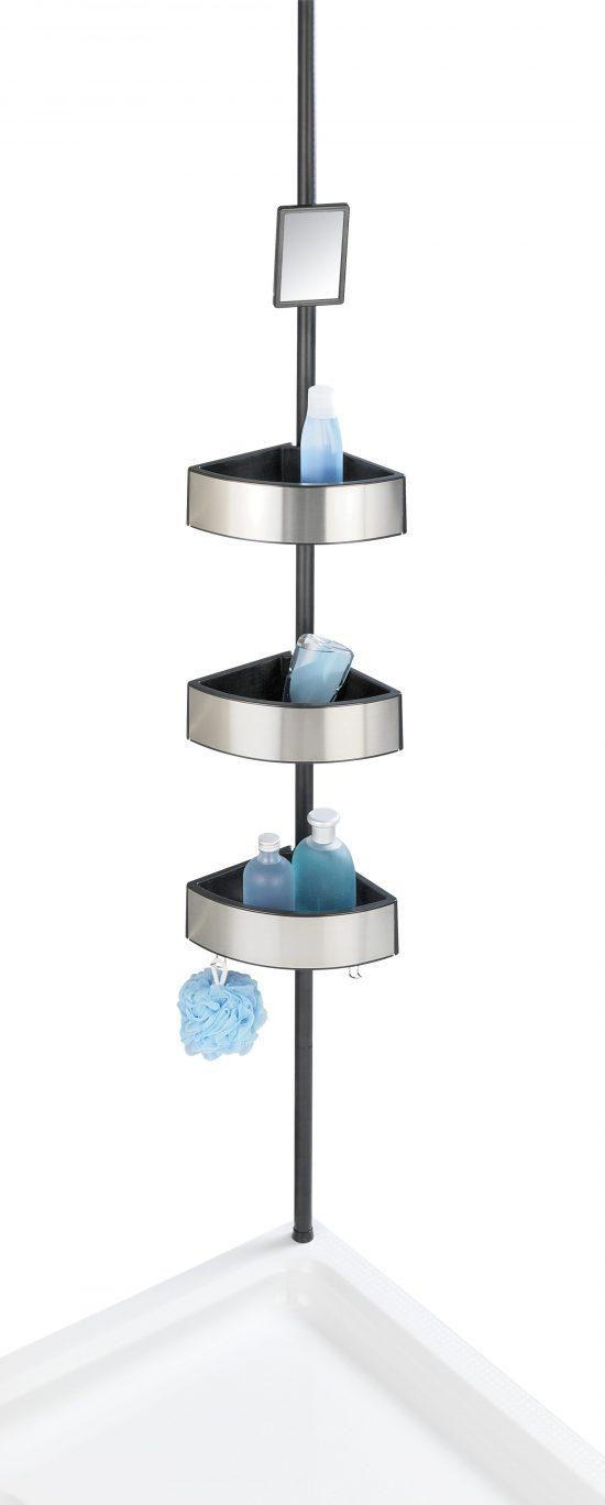 מתקן מדפים אוניברסלי למקלחת פרימיום