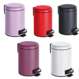 פח פדל 3 ליטר ממתכת במגוון צבעים