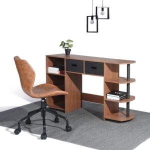 שולחן כתיבה משולב מדפים