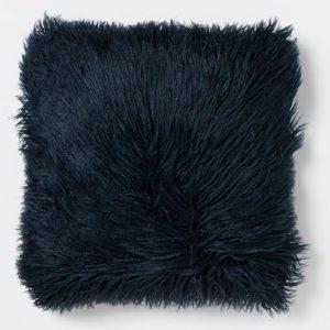 כרית נוי דגם שיער ארוך כריות 45x45 נייבי
