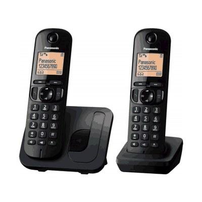 טלפון אלחוטי + שלוחה PANASONIC דגם KXTGC212