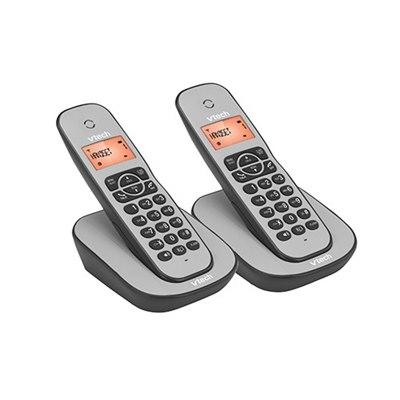 טלפון אלחוטי כפול  וי טק Helio CS1000TW