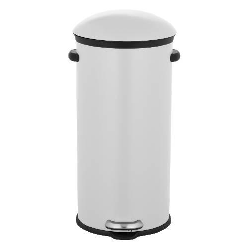 פח 30 ליטר בצבע לבן