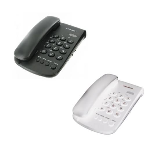 טלפון שולחני HDT-2400B/W יונדאי