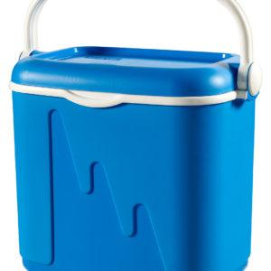 צידנית 33 ליטר בצבע כחול כתר