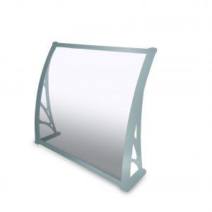 סוכך כניסה/חלון פוליקרבונט דחוס אפור 1000DX900W SOLID grey