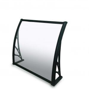 סוכך כניסה/חלון פוליקרבונט דחוס שחור 1500DX1000W SOLID BLACK