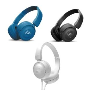 אוזניות קשת אלחוטיות JBL T450BT במגוון צבעים
