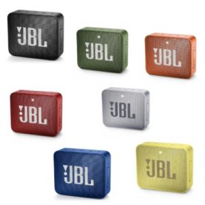 רמקול נייד JBL GO 2 במגוון צבעים