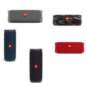 רמקול נייד JBL Flip 5 במגוון צבעים