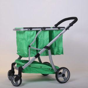 עגלת קניות גרין קארט בצבע ירוק - חדש!!