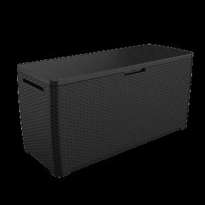 ארגז אחסון דגם סמואה אפור 270 ליטר