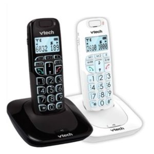 טלפון אלחוטי דק לכבדי שמיעה VTech SLB-150